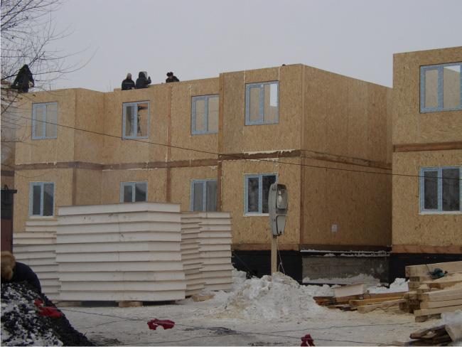 Дома из бетонных и железобетонных панелей технология