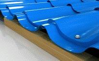 Порядок раскладки листов металлочерепицы и их крепление