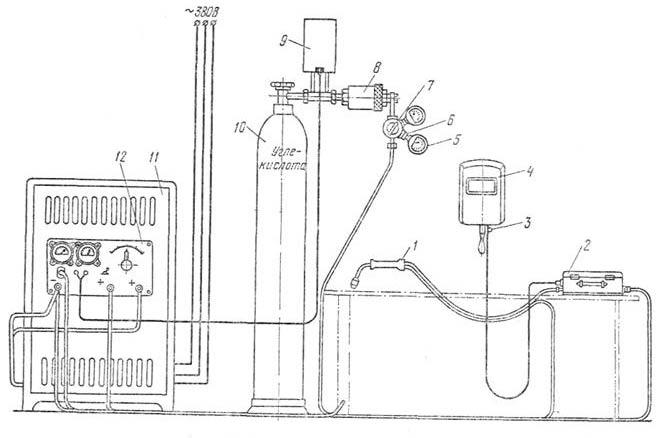 схема полуавтомата сварочного - Микросхемы.