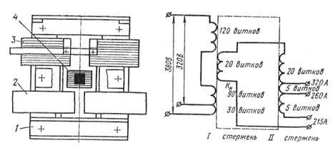 Электрическая схема трансформатора СТШ-500. Электрическая схема трансформатора ТМ-300-П