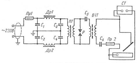 Напряжение на элементах схемы. регулируется. электродов. инспекции электросвязи; при эксплуатации следить за его...