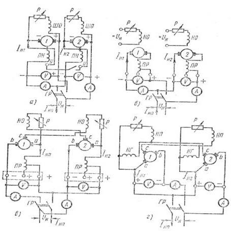 принципиальные схемы источников постоянного тока